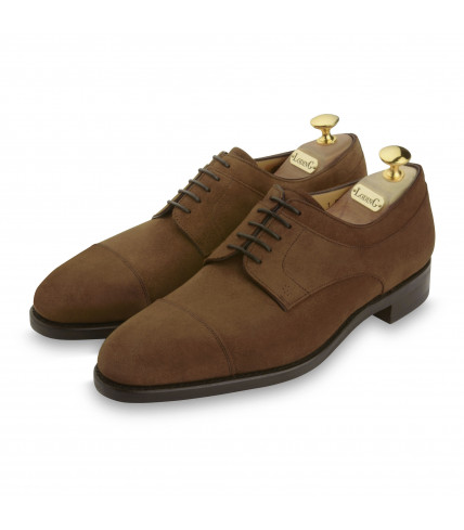 Derbys Goodyear Douets 436 camel suede