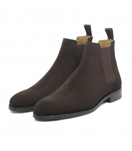 Suede Chelsea boots 373 - Brown