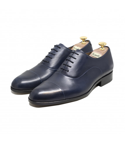 Straight toe-cap Oxford Churchill 1003 - Blue