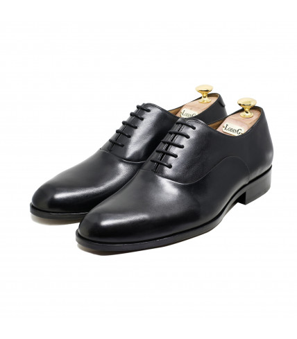 Round toe-cap Oxford Winston 1005 - Black