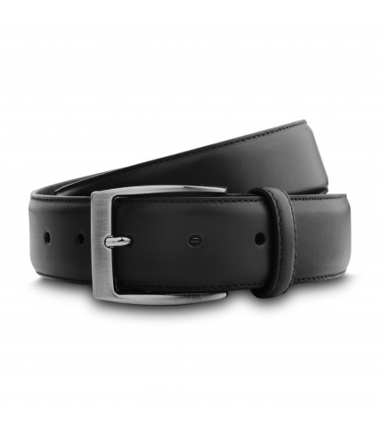 Pure calf leather classic belt