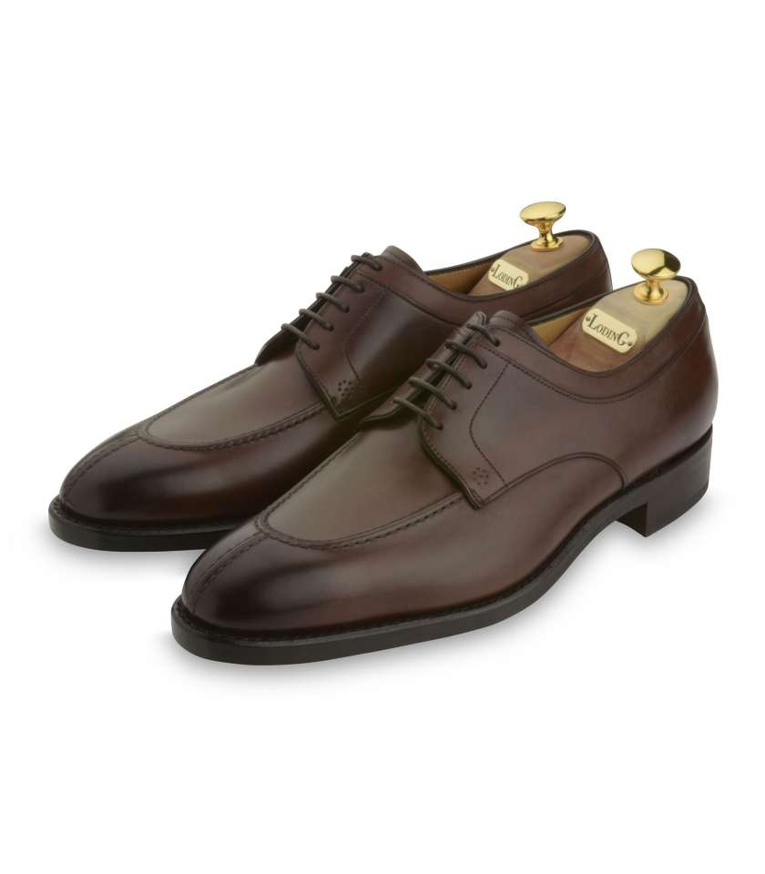 Derby Goodyear Denley 411 brown box and rubber sole