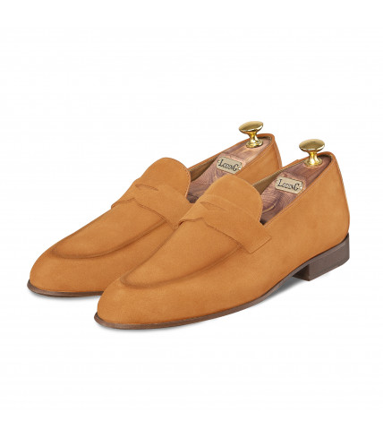 Suede Loafers Cannes 1010