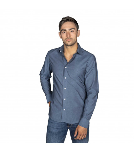Fancy Slim fit dress shirt 100% cotton