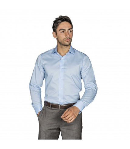 Slim-Fit Shirt Egyptian cotton poplin without ironing
