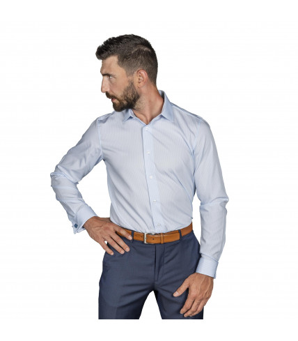 Non iron Classic Fit shirt cotton satin