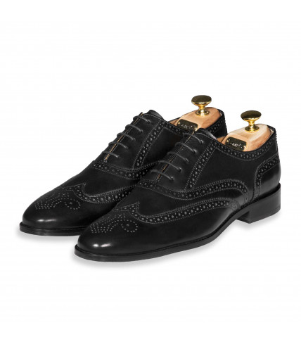 Richelieu Brogue souple Lord 302 - Noir