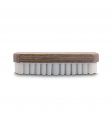 Suede leather brush
